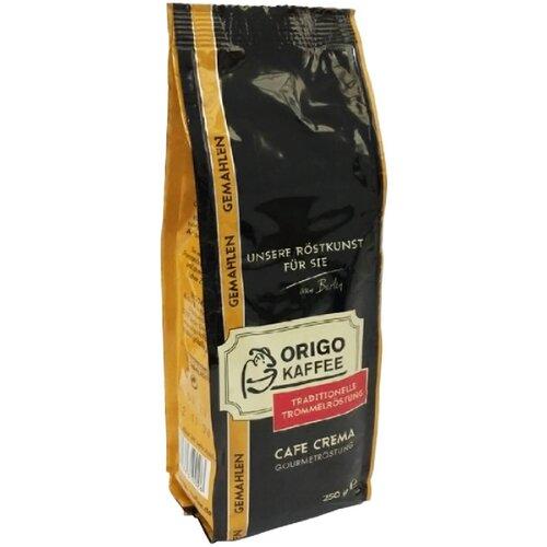 Фото - Кофе молотый ORIGO Cafe Crema, 250 г кофе молотый samba cafe brasil rico 250 г