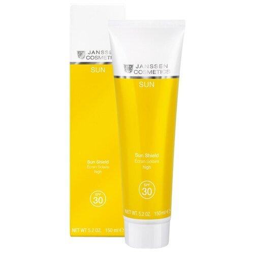 Janssen Cosmetics Солнцезащитная эмульсия для лица и тела SPF 30 150 мл эмульсия для тела janssen cosmetics isoflavonia с фитоэстрогенами 200 мл