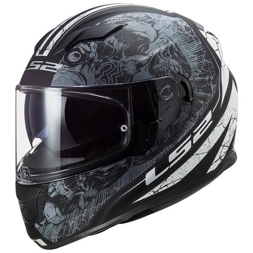Шлем LS2 FF320 STREAM EVO THRONE (XS, Matt Black Titanium)
