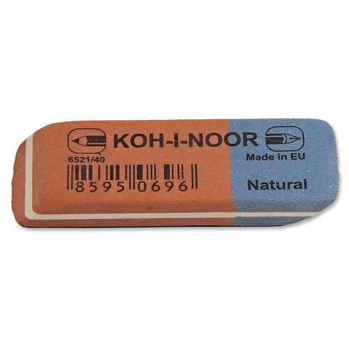 KOH-I-NOOR Ластик 6521/40 40 шт. красно-синий стирательная резинка ластик koh i noor bluestar 6521 40