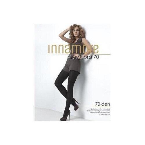 Фото - Колготки Innamore Microfibra, 70 den, размер 2-S, capuccino (коричневый) колготки innamore microfibra 100 den размер 2 s moka коричневый