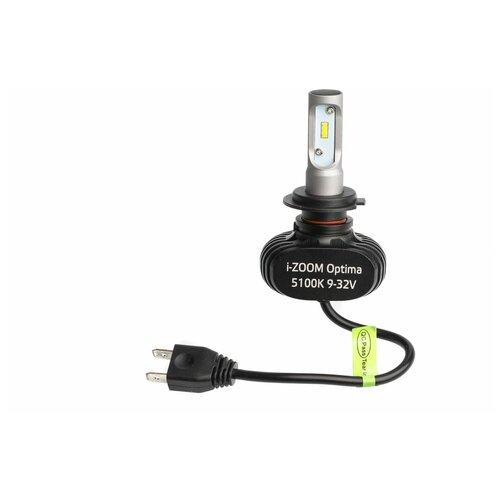 Лампа автомобильная светодиодная Optima i-Zoom i-H7 H7 9-32V 19.2W 2 шт.