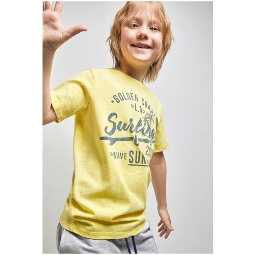 Фото - Футболка для мальчиков размер 158, желтый, ТМ Acoola, арт. 20110110295 футболка acoola размер 158 белый