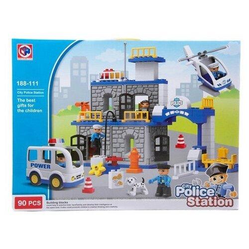 Конструктор Kids home toys 188-111 Police Station конструктор kids home toys happy farm 188 133