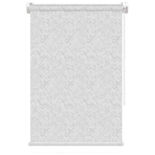 Рулонная штора FixLine Savage (светло-серый), 55х180 см