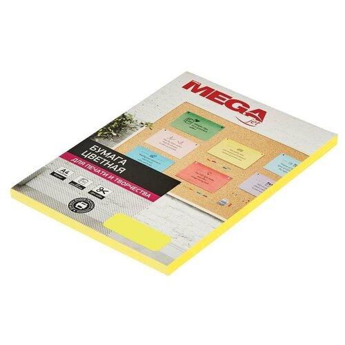 Фото - Бумага ProMEGA А4 Neon 75г/м² 100 лист., желтый бумага promega а4 73634 100 лист белый