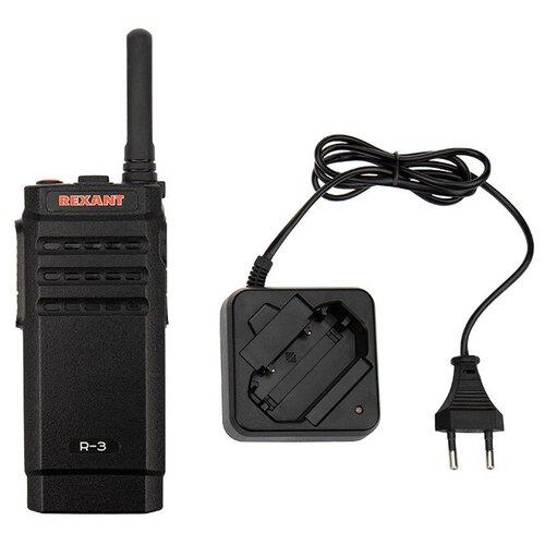 Портативная профессиональная радиостанция REXANT R-3 радиостанция comrade r 1