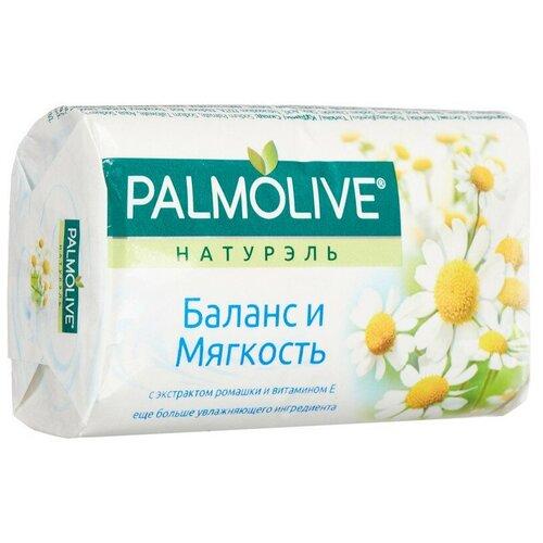 Фото - Мыло туалетное 90г PALMOLIVE Баланс и мягкость (экстракт ромашки и вит Е) 3 шт. мыло palmolive баланс и мягкость ромашка и витамин е 4 шт 90 г