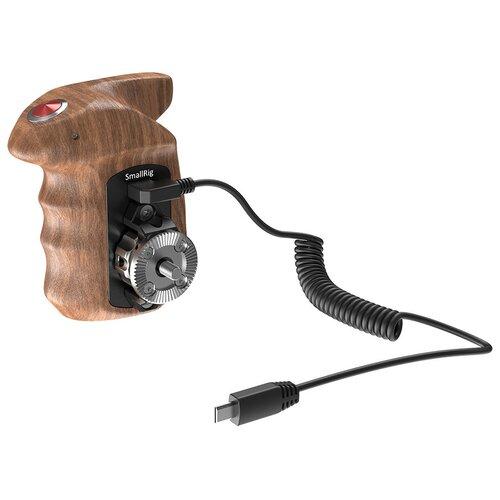 SmallRig HSR2511 Ручка боковая правая Wooden Hand Grip с кнопкой управления для камер Sony