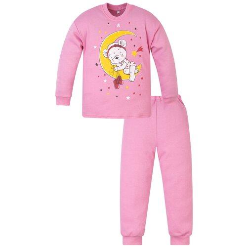 Купить Пижама детская 800п, Утенок, рост 110 см, розовый_мишутка, Домашняя одежда