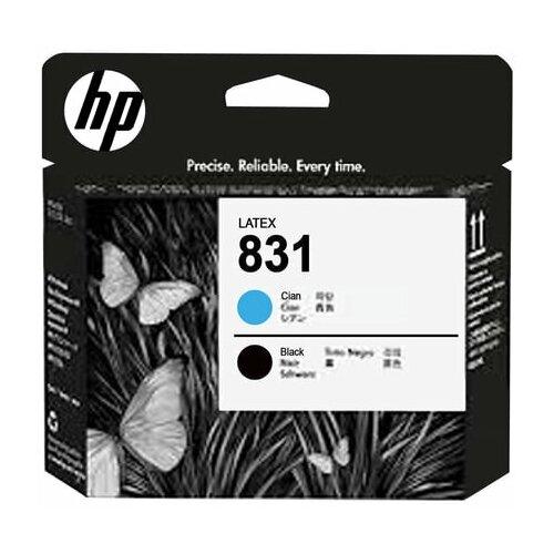 Головка печатающая для плоттера HP (CZ677A) HP Latex 310/330/360/370 №831 черный и голубой оригинальная 1 шт.
