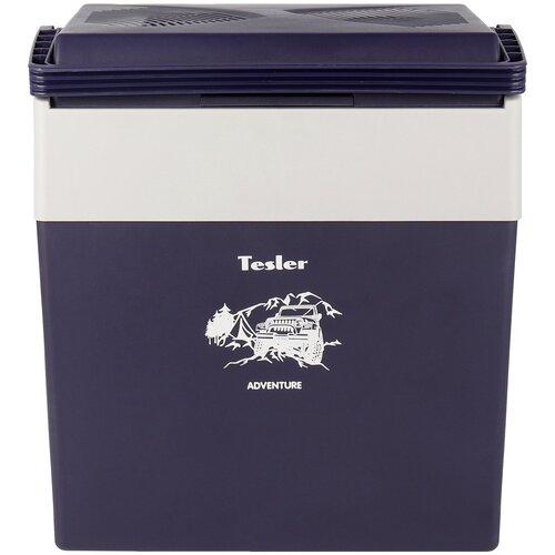 Автомобильный холодильник Tesler TCF-3012 черничный/серый