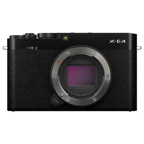 Фото - Фотоаппарат Fujifilm X-E4 Body черный фотоаппарат