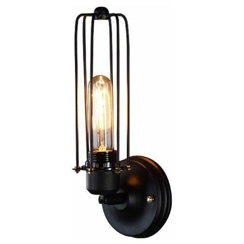 Настенный светильник LOFT IT Loft tube mono Loft2108W, E27, 60 Вт, кол-во ламп: 1 шт., цвет арматуры: черный