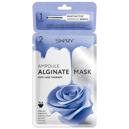 Фото - Маска Shary Ampoule Alginate Mask Anti-Age Therapy ампульная альгинатная для лица, 30 г shary collsgen маска для лица на тканевой основе 100% коллаген 20 г