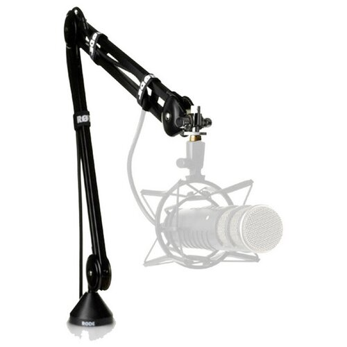 Фото - Микрофонная стойка RODE PSA1 ultimate support js mcfb50 низкая стойка микрофонная журавль н