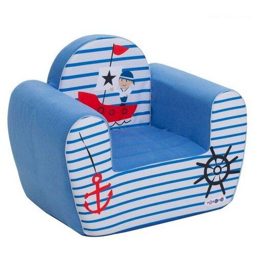 Кресло PAREMO детское PCR317 размер: 54х38 см, обивка: ткань, цвет: Экшен Мореплаватель