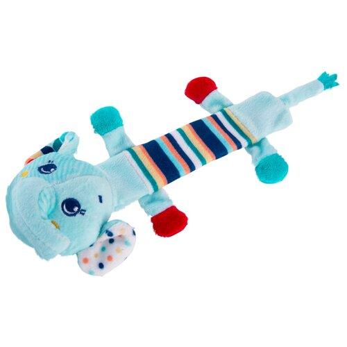 Купить Подвесная игрушка Happy Snail Слоник Джамбо (19HSF04EL) голубой, Подвески