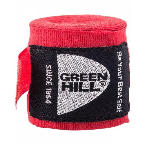 Кистевые бинты Green hill BP-6232c 3,5 м красный