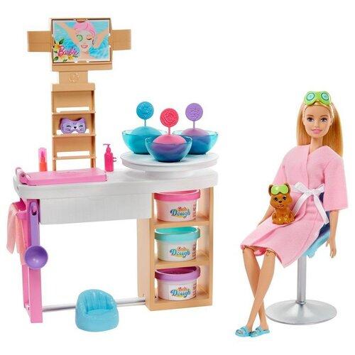 Фото - Кукла Mattel Barbie, Спа (GJR84) набор игровой barbie оздоровительный спа центр gjr84