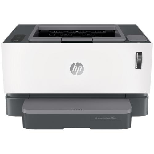 Фото - Принтер HP Neverstop Laser 1000n, белый/черный принтер лазерный hp neverstop laser 1000w a4 wifi 4ry23a