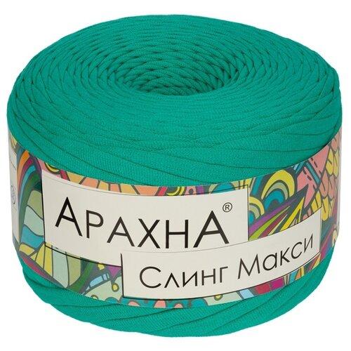Купить Набор пряжи ARACHNA Sling Maxi , хлопок, 4*280 г+/-16 г, 100 м+/-5 м, №14 мятный, Изготовление кукол и игрушек