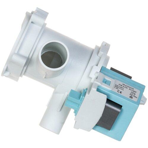 Сливной насос (помпа) Mainox с улиткой в сборе для стиральной машины Bosch (Бош), Siemens (Сименс) 34W