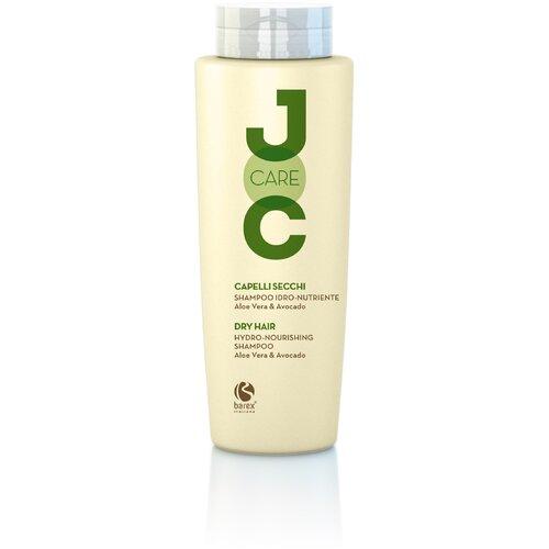 Фото - Barex шампунь JOC Care Hydro-Nourishing Aloe Vera & Avocado для сухих и ослабленных волос с алоэ вера и авокадо, 250 мл barex шампунь joc cure energizing против выпадения волос с имбирем корицей и витаминами 250 мл