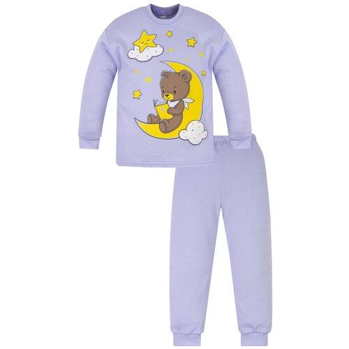 Купить Пижама детская 800п, Утенок, рост 98 см, голубой_мишка, Домашняя одежда