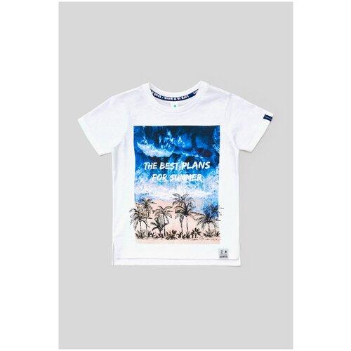 Фото - Футболка для мальчиков размер 158, белый, ТМ Acoola, арт. 20110110302 футболка acoola размер 158 белый
