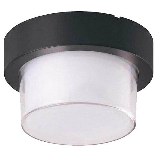 светильник horoz 021 005 0001 spectrum HOROZ ELECTRIC Уличный светильник Suga 076-021-0012, 12 Вт, цвет арматуры: черный, цвет плафона белый