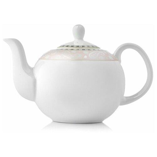 Фото - Заварочный чайник Esprado Arista Rose 1220 мл, костяной фарфор, ARRL13RE306 чайник заварочный 0 95л rose зеленый