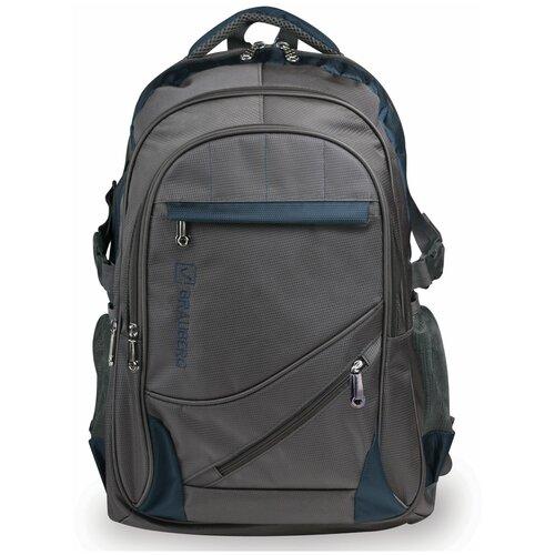 сумка brauberg control 1 серый Рюкзак BRAUBERG MainStream 1, серый/синий
