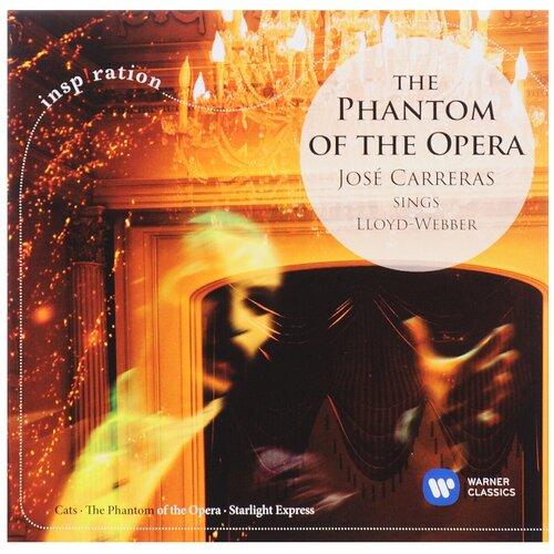 cafe del mar best of compiled by jose padilla 2 cd Warner Bros. Phantom of the Opera. Jose Carreras Sings Lloyd Webber (CD)