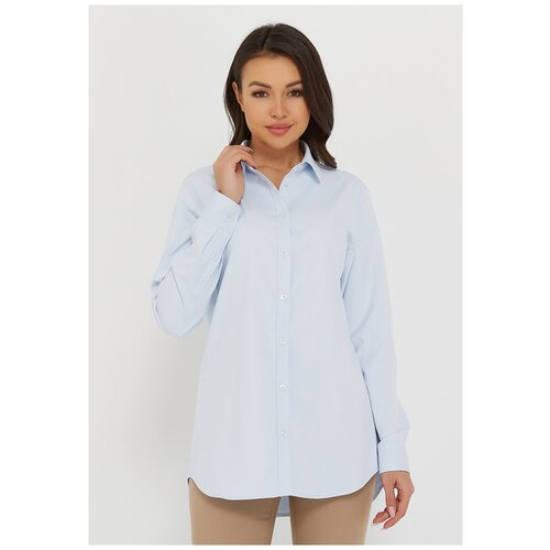 Рубашка Katharina Kross, размер 52, голубой
