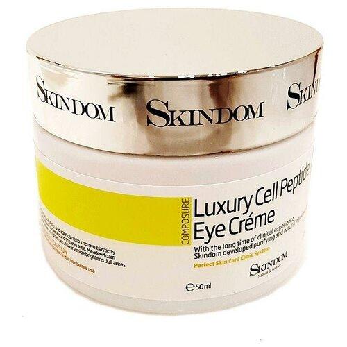 SKINDOM Крем для кожи вокруг глаз с пептидами Composure Luxury Cell Peptide Eye Cream, 50 мл