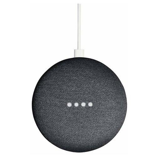 Умная колонка Google Home Mini, charcoal