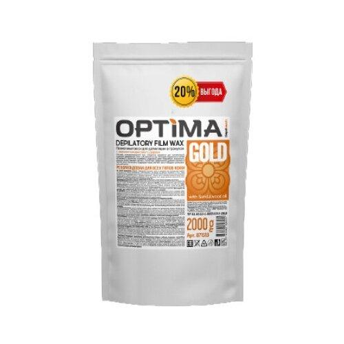 Купить Depiltouch Пленочный воск для депиляции в гранулах OPTIMA «GOLD», 2000 гр.