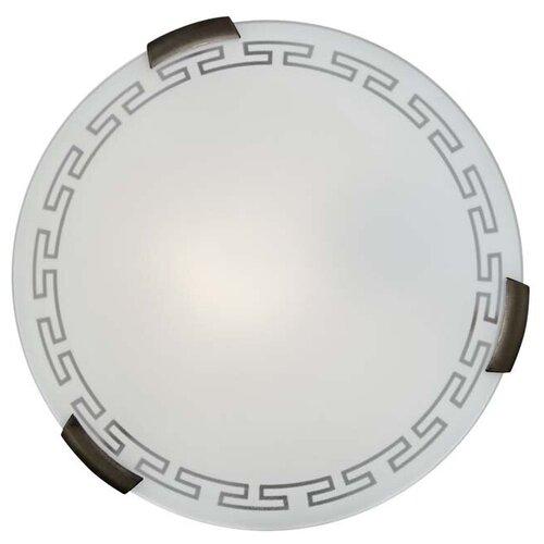 Настенно-потолочный светильник Сонекс Greca 261, E27, 200 Вт, кол-во ламп: 2 шт., цвет арматуры: бронзовый, цвет плафона: белый светильник без эпра сонекс greca 361 d 50 см e27