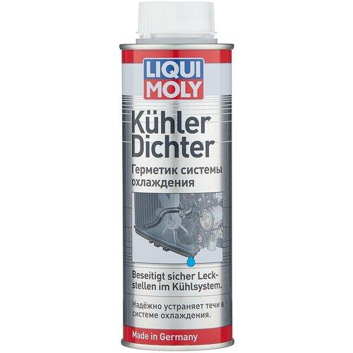 Универсальный герметик для ремонта автомобиля LIQUI MOLY KuhlerDichter 1997, 250 мл бесцветный герметик для ремонта автомобиля набор для ремонта автомобиля liqui moly auspuff bandage 3344 бесцветный