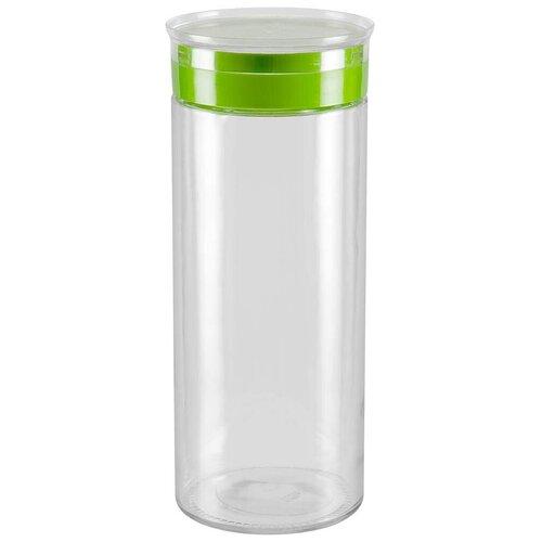 Фото - Nadoba банка для сыпучих продуктов Tekla 2.2 л бесцветный/зеленый банка для сыпучих продуктов nadoba 741111