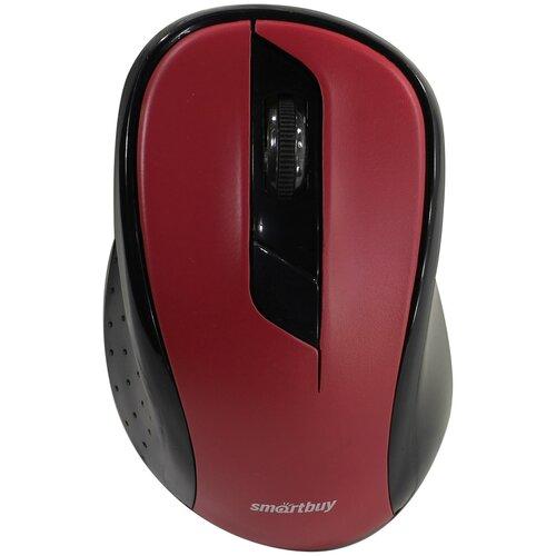 Фото - Беспроводная мышь SmartBuy SBM-597D, красный компьютерная мышь smartbuy sbm 597d k черный