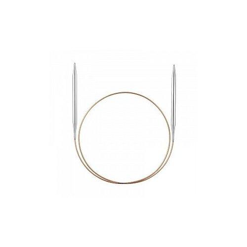 Купить Спицы ADDI с фиксаторами на лесках 181-7/2-50, диаметр 2 мм, длина 50 см, серебристый