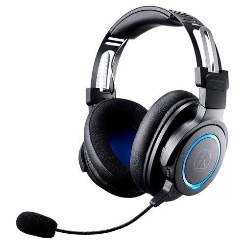 Компьютерная гарнитура Audio-Technica ATH-G1WL черный