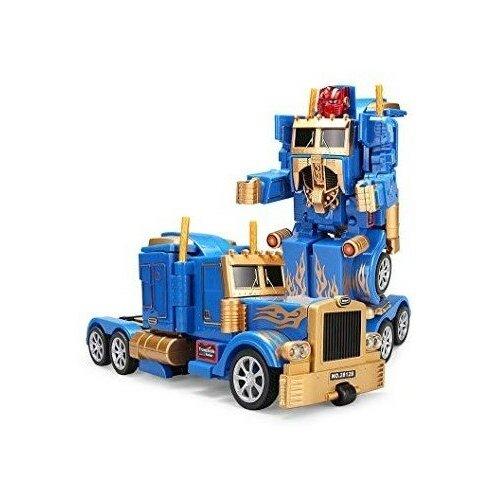 Радиоуправляемый робот трансформер грузовик