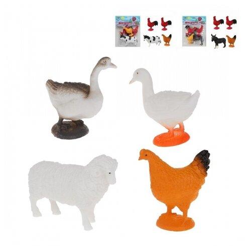 Игровой набор Ферма, 4 предмета в асс., пакет недорого