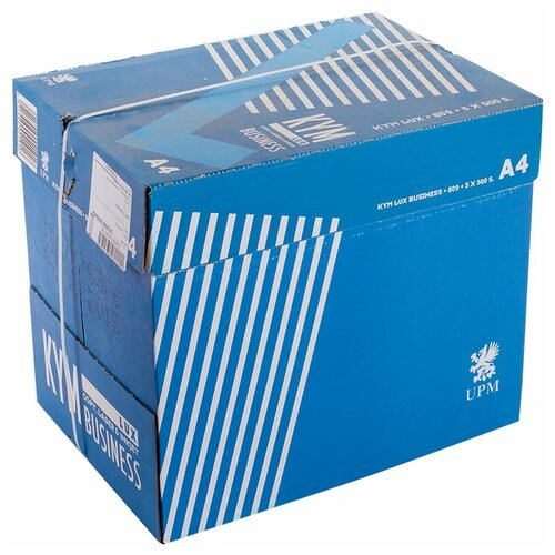 Фото - Бумага Kym Lux A4 Business 80 г/м² 500 лист., 5 пачк., белый бумага creative a4 студенческая 80 г м² 100 лист белый