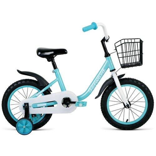 Фото - Детский велосипед FORWARD Barrio 14 (2021) бирюзовый (требует финальной сборки) детский велосипед forward barrio 18 2020 красный требует финальной сборки