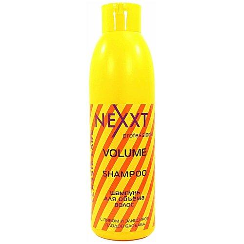 Фото - Nexprof шампунь Professional Classic Care Volume для объема волос, 1 л nexprof кондиционер classic care volume для объема волос 200 мл
