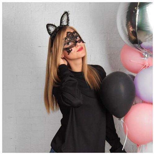 Канравальный набор Кошечка (маска+ушки) 2248221